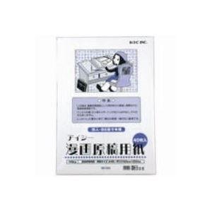 直送・代引不可(業務用100セット) アイシー マンガ原稿用紙 IM-10B B4別商品の同時注文不可