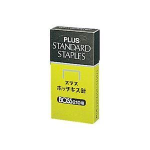 直送・代引不可 (業務用100セット) プラス ホッチキス針 BOSS 210用 210本とじ×24 ×100セット 別商品の同時注文不可
