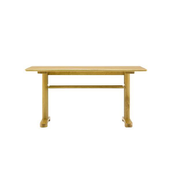 直送・代引不可 ボスコプラス クローネLDテーブル 130cm ナチュラル DT84404Q-PN800 別商品の同時注文不可