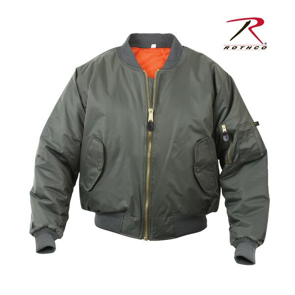 直送・代引不可ROTHCO(ロスコ) MA-1フライトジャケット ROGT7324 オリーブ L別商品の同時注文不可