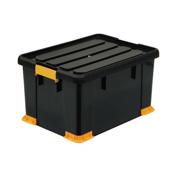 直送・代引不可(まとめ) サンカ 頑丈箱(工具箱) ブラック 53×30cm TCP-53-30 1個 【×2セット】別商品の同時注文不可