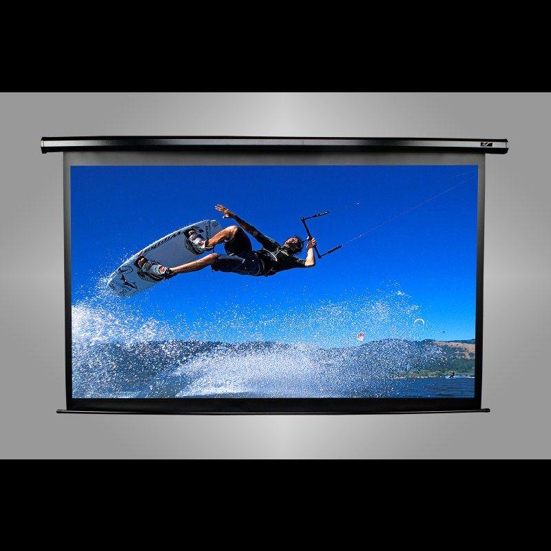 "VMAX135XWH2-E24 「直送」【代引不可・他メーカー同梱不可】 elitescreens エリートスクリーン 電動プロジェクタースクリーン ヴィマックス2 135インチ(16:9) 24""延長 ホワイトケース VMAX135XWH2-E24"