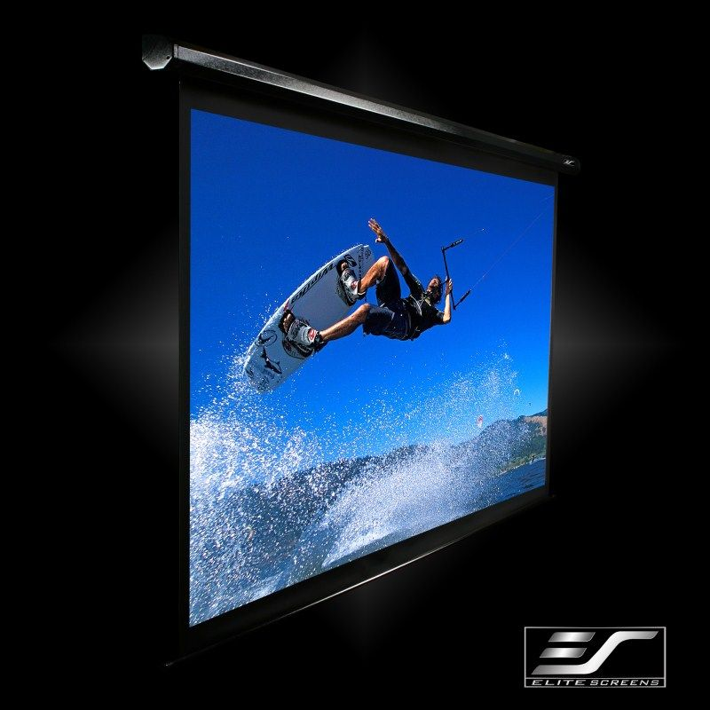 ELECTRIC120V 「直送」【代引不可・他メーカー同梱不可】 elitescreens エリートスクリーン 電動プロジェクタースクリーン スペクトラム 120インチ(4:3) ホワイトケース Electric120V