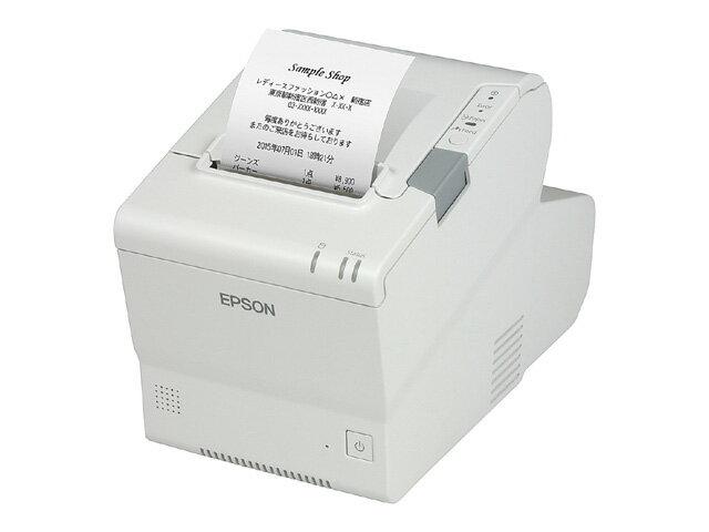 TM885DT713 「直送」【代引不可・他メーカー同梱不可】 エプソン スマートレシートプリンター TM885DT713(PC一体型/58mm幅/ホワイト)