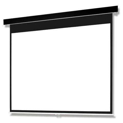 SMP-100VM-K1-WG103 「直送」【代引不可・他メーカー同梱不可】 オーエス Pセレクション手動スクリーン(黒パネル/100型NTSC)