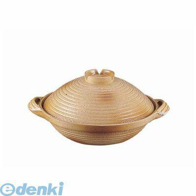 [QDN1124] アルミ 電磁用手造り土鍋 楽鍋(新幸楽) 24 4905001313882