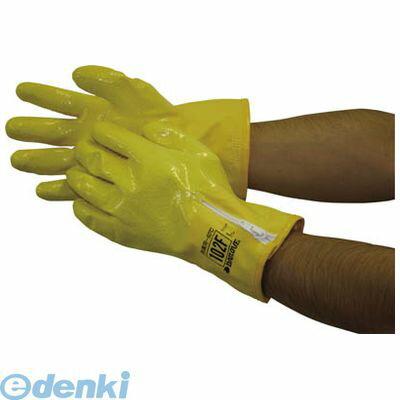 【あす楽対応】ダイヤゴム [D102FL] 防寒用手袋 ダイローブ102F【L】 (10入)【送料無料】