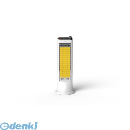 ユーイング[US-CR900K W]  リモコン式速暖カーボンヒーター 自動首振り ホワイトUSCR900KW【送料無料】