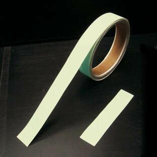 【あす楽対応】(株)日本緑十字社(緑十字) [189501] BBA-5010 高輝度蓄光青色テープ 50mm幅×10m