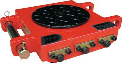 ダイキ[DU6S3] 「直送」【代引不可・他メーカー同梱不可】 スピードローラー超低床型ウレタン車輪3ton【送料無料】