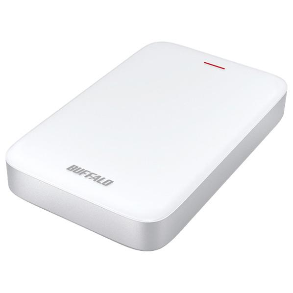 【送料無料】BUFFALO Thunderbolt+USB3.0Type-C変換ケーブル付 ポータブルHDD(1TB) ミニステーション HD-PA1.0TU3-C [HDPA10TU3C]【KK9N0D18P】