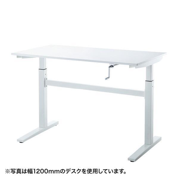 【送料無料】サンワサプライ 手動昇降デスク(W700mm) ERD-SH7070W [ERDSH7070W]
