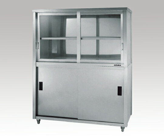 1-1435-10 ステンレス保管庫 ACS-1800HG