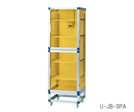 3-6754-01 フロストドライデシケータJB(UVC&制電) 574×611×1765 強化プラスチック棚板