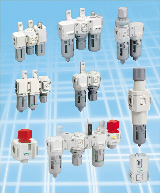 CKD F.R.Mコンビネーション 白色シリーズ C8030-25-W-T8