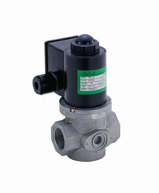 CKD ガス遮断弁(クイックオープンタイプ) VNA-25-AC200V