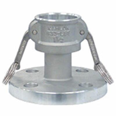 トヨックス カムロックカプラー フランジ付(標準品JIS10K相当品) アルミ 65A 633-LBS