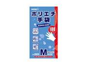 ショーワ ポリエチ手袋 No.826 100枚入×40箱 M