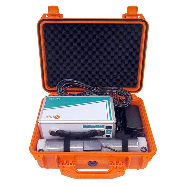 「32W-12V モバイルソーラーシート + ポータブル蓄電池 + 防水ハードケース」 モバイルソーラー防水セット GSS-1032B-S1(オーエス)