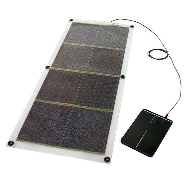 【ソーラー充電器 スマートフォン】16W ソーラー充電器+ノートPC対応バッテリー モバイルソーラーセット GSS-1016B