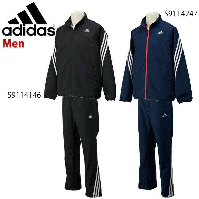 adidas (アディダス) メンズ M ESS 3S STクロスジャケット サッカーウェア/ランニングウェア/フィットネスウェア kay99kaz00set