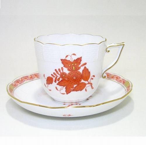 ヘレンド・アポニーオレンジAOG コーヒーC/S 160cc 706