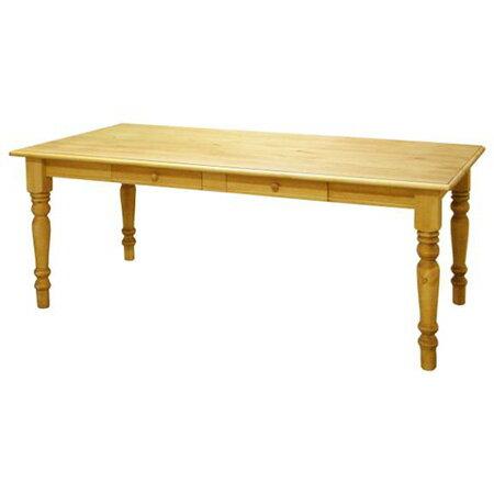 カントリー家具 180cm ダイニングテーブル 引き出し4杯 アトリエシリーズ 人気