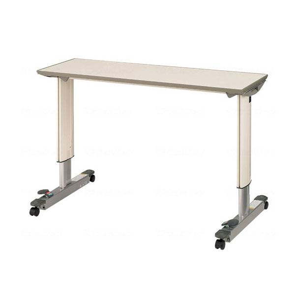 (代引き不可)パラマウント オーバーベッドテーブル 83cm用 / KF-833SA(ガススプリング式 テーブル移動ロック機構付き)(日・祝日配達不可 時間指定不可) 介護用品【532P16Jul16】