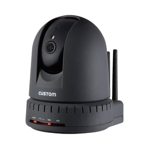 (代引き不可)温湿度センサー付IPカメラ IPC-01TH カスタム 介護用品
