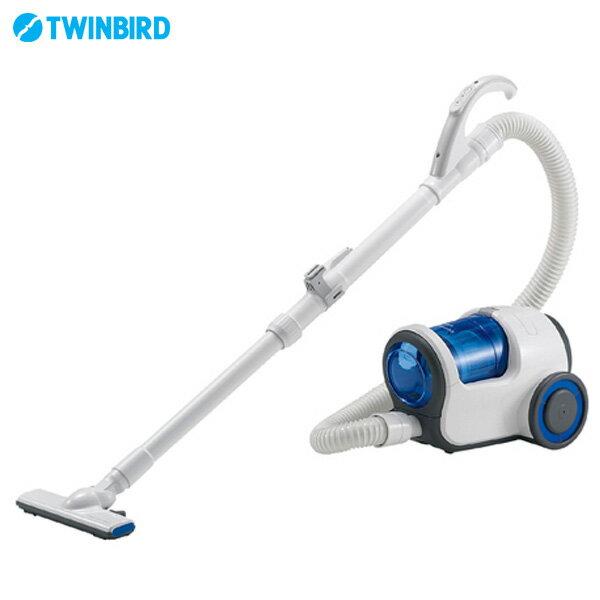 【送料無料】TWINBIRD 〔ツインバード〕 家庭用クリーナーデュアルドラムサイクロン YC-T009BL ブルー【D】