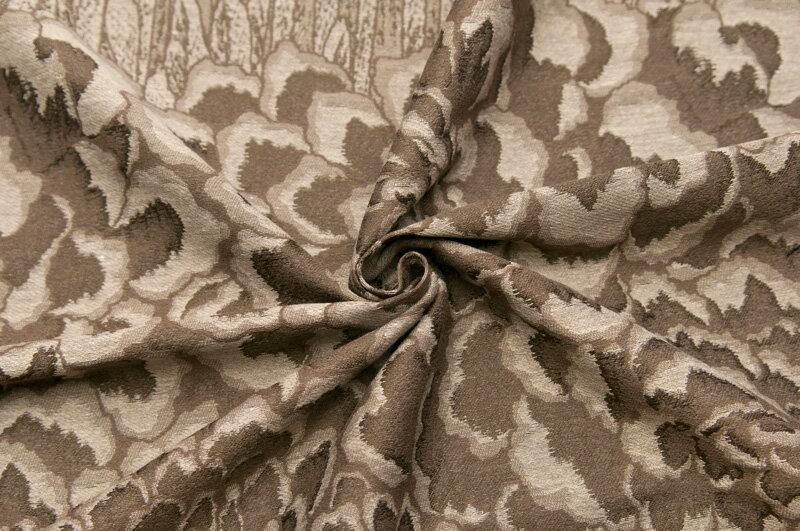イタリア製【ALBERTA FERRETTI LIMITED EDITION/アルベルタ・フェレッティ リミテッド・エディション】コットン・ブレンドジャカード・ローズスーツ着分2パネル2.5m単位 生地・布