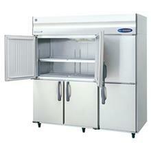 ホシザキ・星崎タテ型インバーター冷蔵庫型式:HR-180ZT-ML寸法:幅1800mm 奥行650mm 高さ1890mm送料:無料 (メーカーより直送)保証:メーカー保証付受注生産品、納期約2週間