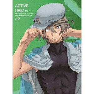 【送料無料】アクティヴレイド 機動強襲室第八係 2nd ディレクターズカット版 Vol.2 【Blu-ray】