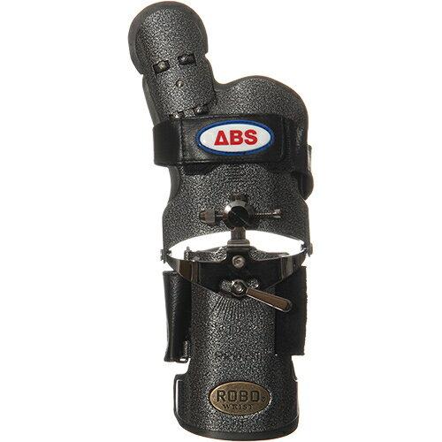 【送料無料】ABS(アメリカン ボウリング サービス) ロボリスト 右用 ブラックシルバー BK/SI 【ボウリンググローブ リスタイ サポーター ボーリング】