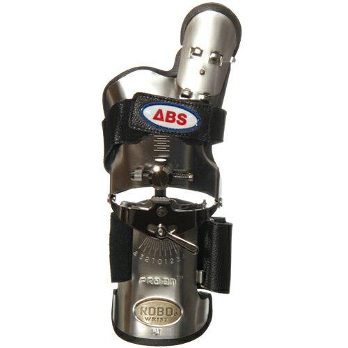 【送料無料】ABS(アメリカン ボウリング サービス) ロボリスト 左用 レギュラーサイズ ステンレス ST 【ボウリンググローブ リスタイ サポーター ボーリング】