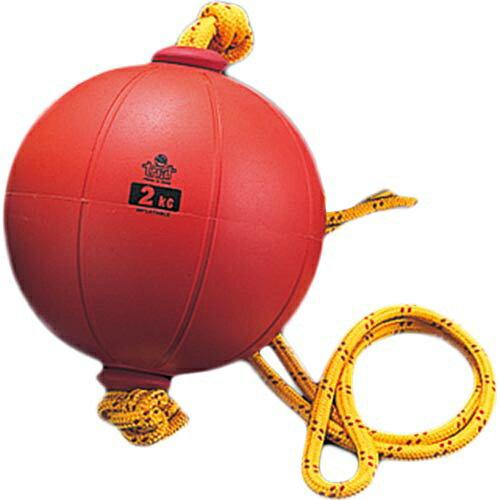 【送料無料】ニシスポーツ(NISHI) スウィングメディシンボール ゴム製 2kg T5912 【トレーニング 筋トレ ストレングトレーニング】