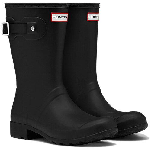 【送料無料】ハンター(HUNTER) レディース オリジナル ツアー ショート ブラック WFS1026RMA 【長靴 ラバーブーツ 雨靴】