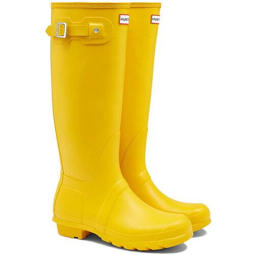 【送料無料】ハンター(HUNTER) レディース オリジナルトール イエロー WFT1000RMA 【長靴 ロングブーツ ラバーブーツ 雨靴】