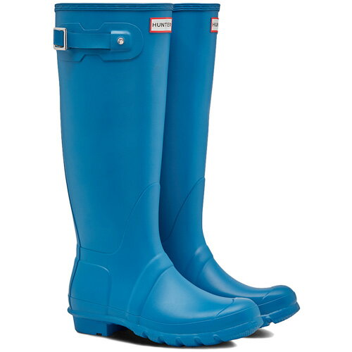 【送料無料】ハンター(HUNTER) レディース オリジナルトール オーシャン ブルー WFT1000RMA 【長靴 ロングブーツ ラバーブーツ 雨靴】