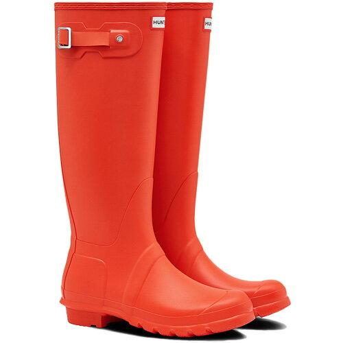 【送料無料】ハンター(HUNTER) レディース オリジナルトール オレンジ WFT1000RMA 【長靴 ロングブーツ ラバーブーツ 雨靴】