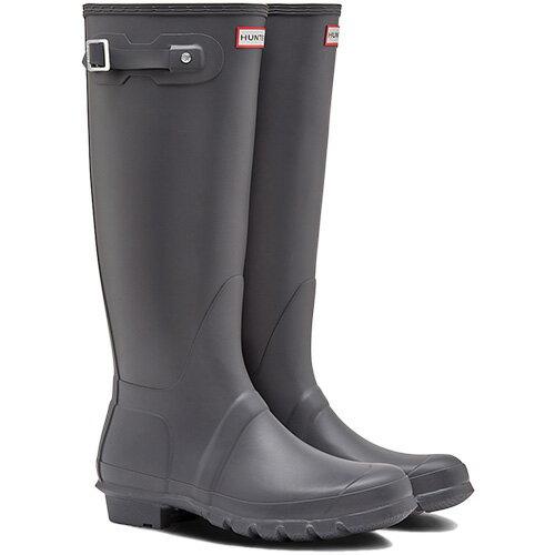 【送料無料】ハンター(HUNTER) レディース オリジナルトール ダーク スレート WFT1000RMA 【長靴 ロングブーツ ラバーブーツ 雨靴】