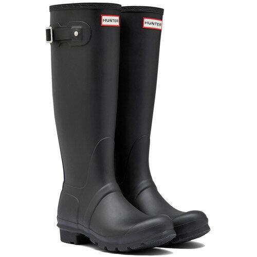 【送料無料】ハンター(HUNTER) レディース オリジナルトール ブラック WFT1000RMA 【長靴 ロングブーツ ラバーブーツ 雨靴】