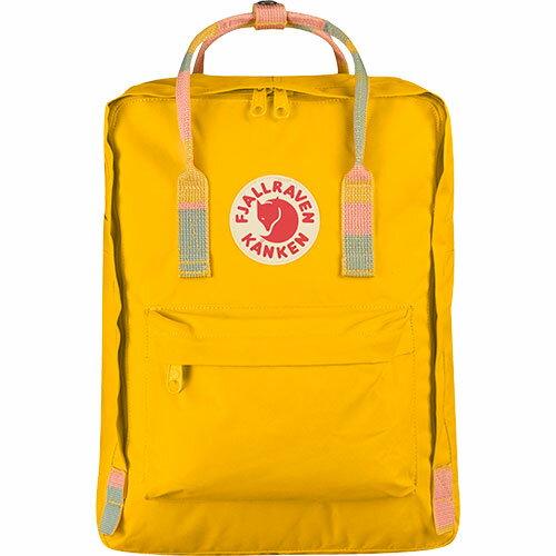 【送料無料】フェールラーベン(FJALL RAVEN) カンケン バッグ Kanken 141-905-Warm-Yellow/Ramdom-Blocked 23510 【デイパック リュックサック ザック バックパック】
