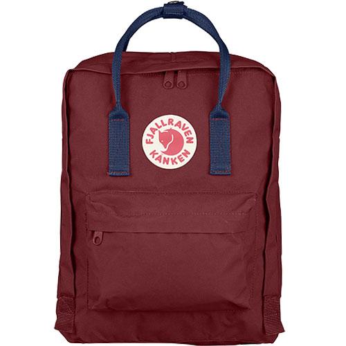 【送料無料】フェールラーベン(FJALL RAVEN) カンケン バッグ Kanken 326-540-Ox-Red/Royal-Blue 23510 【デイパック リュックサック ザック バックパック】