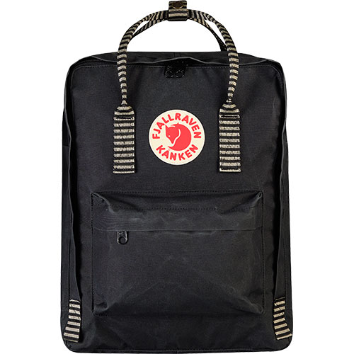 【送料無料】フェールラーベン(FJALL RAVEN) カンケン バッグ Kanken 550-901-Black/Striped 23510 【デイパック リュックサック ザック バックパック】