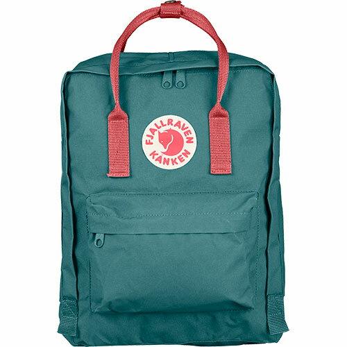 【送料無料】フェールラーベン(FJALL RAVEN) カンケン バッグ Kanken 664-319-Frost-Green/Peach-Pink 23510 【デイパック リュックサック ザック バックパック】