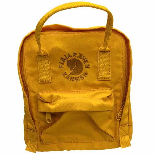 【送料無料】フェールラーベン(FJALL RAVEN) リ カンケン ミニ バッグ Re-Kanken Mini 142-Sunflower-Yellow 23549 【デイパック リュックサック ザック バックパック】