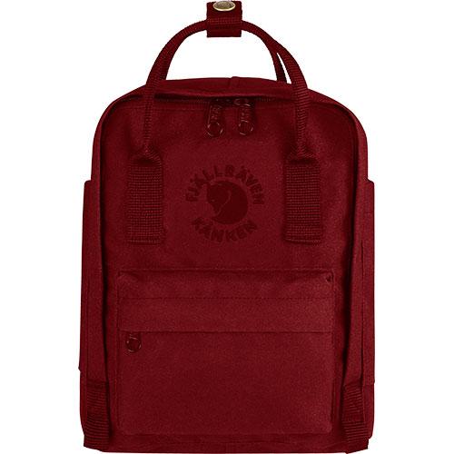 【送料無料】フェールラーベン(FJALL RAVEN) リ カンケン ミニ バッグ Re-Kanken Mini 326-Ox-Red 23549 【デイパック リュックサック ザック バックパック】