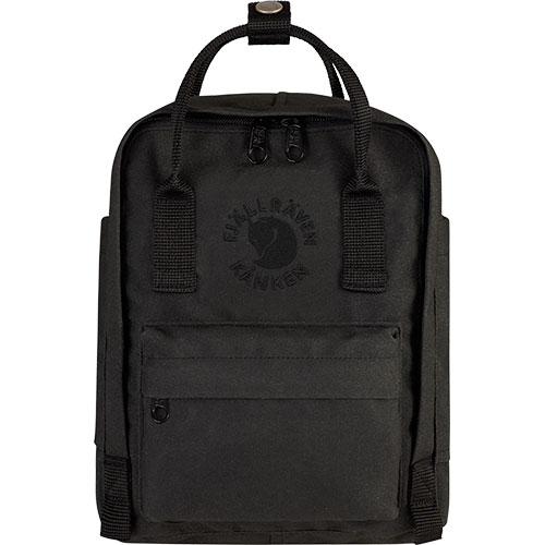 【送料無料】フェールラーベン(FJALL RAVEN) リ カンケン ミニ バッグ Re-Kanken Mini 550-Black 23549 【デイパック リュックサック ザック バックパック】