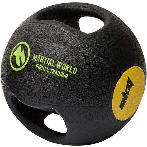 【送料無料】マーシャルワールド(MARTIAL WORLD) メディシンボール ダブルグリップタイプ 6kg MB6 【格闘技用品 トレーニング用品】
